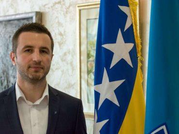 Semir Efendić, načelnik Općine Novi Grad Sarajevo