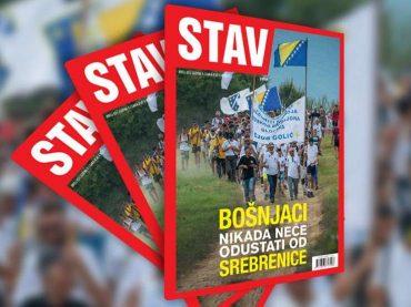 NOVI STAV: Bošnjaci nikada neće odustati od Srebrenice
