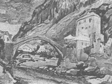 Historija Mosta pored tvrđave