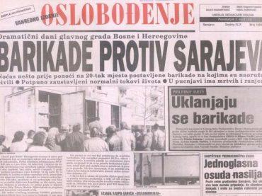 ŠESTI APRIL: Sudbonosni datum u historiji BiH