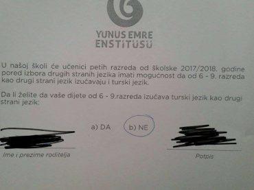 Kome i zašto smeta učenje turskog jezika