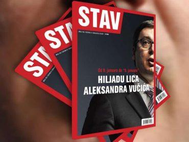 NOVI STAV: Hiljadu lica Aleksandra Vučića