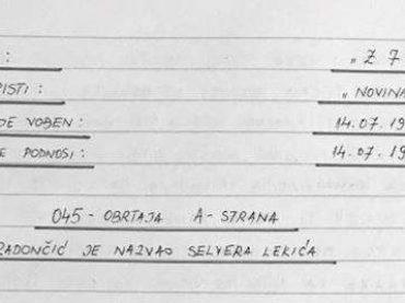 """TAJNI SPISI: Kako je Radončić preprodavao """"humanitarnu pomoć"""" i zgrtao """"veliku lovu"""" za vrijeme opsade Sarajeva"""