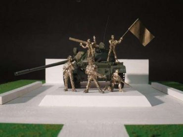 Mi jesmo protiv spomenika u formi tenka, ali podržavamo izgradnju spomenika specijalcima