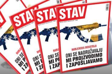 NOVI STAV: Oni se naoružavaju, mi proizvodimo i zapošljavamo
