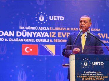 Erdogan u Sarajevu: Čuvajte svoju vjeru i jezik