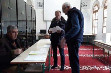 Prvi krug izbora u Islamskoj zajednici