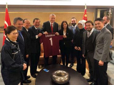 Erdogan primio delegaciju FK Sarajevo