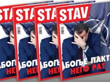 NOVI STAV: Bolje pakt nego rat