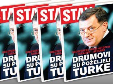 NOVI STAV: Drumovi su poželjeli Turke