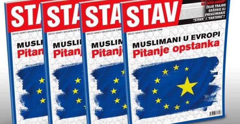 NOVI STAV: Muslimani u Evropi, pitanje opstanka