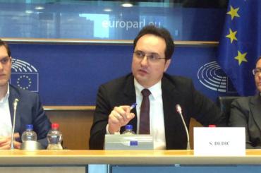 Sedad Dedić u Evropskom parlamentu