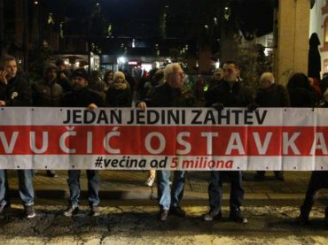 Opozicija na Vučićevim dverima
