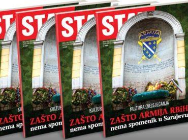 NOVI STAV: Zašto Armija R BiH nema spomenik u Sarajevu