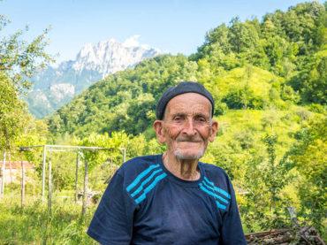 Hadži partizan Ahmed Mešić, najstariji čovjek u Jablanici