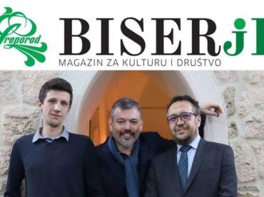 "BZK ""Preporod"" pokrenuo magazin za kulturu i društvo ""Biserje"""