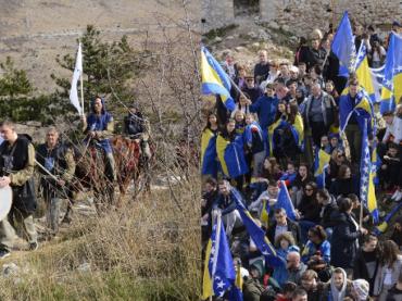 U čast Dana nezavisnosti Bosne i Hercegovine: U Blagaju defile učenika i vitezova!