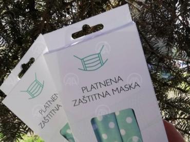 Mlade poduzetnice iz Zenice proizvode pamučne zaštitne maske za lice