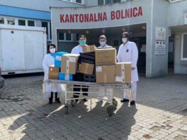 Kompanija Cengiz Insaat i EMMAUS pomogli Goraždu