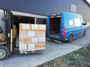 Podijeljeno 100 prehrambenih paketa socijalno osjetljivim osobama na području općine Zvornik