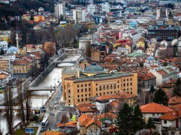Zgrada koja dočekuje sarajevske goste s istoka: Stoljeće za Vijećnicu