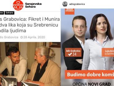 """Kandidat Naše stranke koristio novac iz budžeta da objasni kako je """"Srebrenica prodata"""" i """"ogađena"""""""