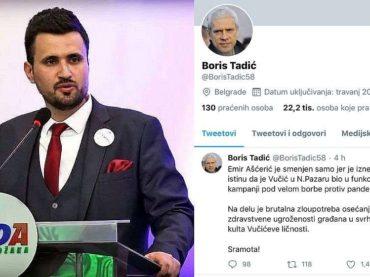SLUČAJ AŠĆERIĆ:  Novi heroj srbijanske opozicije je funkcioner SDA Sandžaka