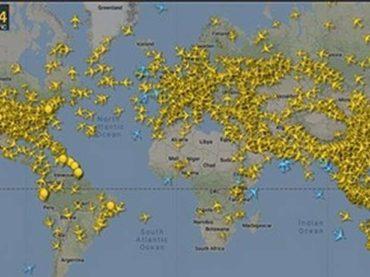 ČIST ZRAK: Kako je pandemija očistila nebo od aviona