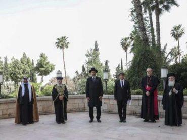 Zajednička molitva u Jeruzalemu za pomoć protiv pandemije