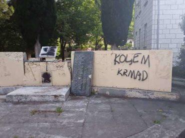 Stolac: Fašistički vandali ponovo u akciji