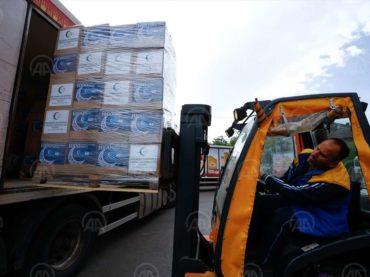 Rijaset i BBI nastavili tradiciju: Iz Sarajeva krenuo konvoj s ramazanskim paketima za građane širom BiH