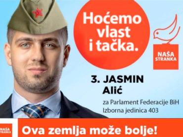 """Predsjednik ogranka Naše stranke u Tuzli prijeti konačnim obračunom: """"MI"""" protiv """"VAS"""" i po cijenu života!"""