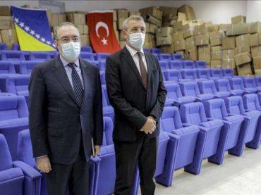 MUP Republike Turske donirao SIPA-i policijske uniforme