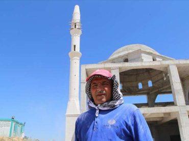 Majstor Mustafa u Turskoj godinama gradi minarete od kamena