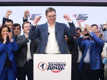 Vučić proglasio pobjedu na izborima: Dobili smo više od dva miliona glasova
