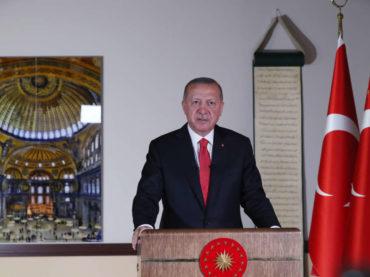 Erdogan: Klanjanjem džuma-namaza 24. jula Aja Sofiju ćemo otvoriti za molitvu