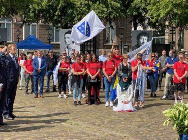 U Haagu obilježena 25. godišnjica genocida u Srebrenici: Prisustvovali i vojnici holandskog bataljona