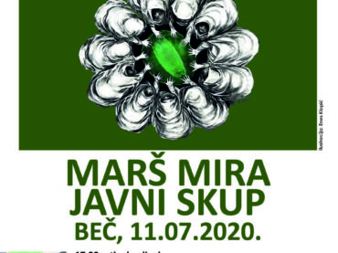 25 godina od genocida u Srebrenici: Marš mira i javni skup 11. jula 2020. u Beču