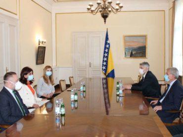 Delegacija BNV-a kod Džaferovića: Ljekari iz BiH puno pomogli u borbi protiv koronavirusa u Sandžaku