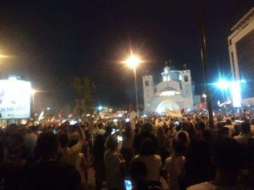 ZAZIVA SE VELIKA SRBIJA: Masovna slavlja u Podgorici