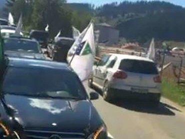 VIDEO/CRNA GORA: Iz hiljada automobila vijore se bošnjačke zastave