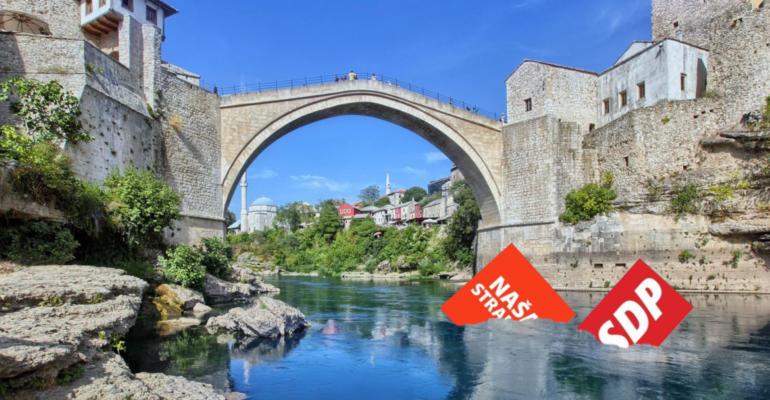 Fini Gradski Maloumnici: Naša stranka i SDP u službi HDZ-a