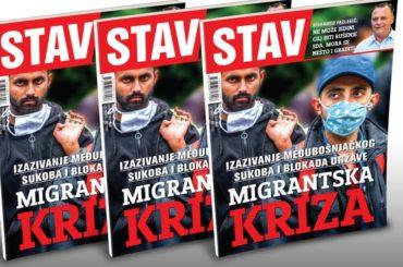 NOVI STAV: Migrantska kriza, međubošnjački sukob i blokada države