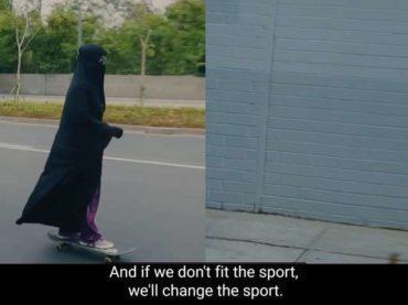 """Povezivanje nikaba i LGBTI kroz reklamu """"Nikea"""""""