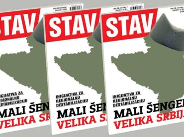 NOVI STAV: Mali Šengen-Velika Srbija