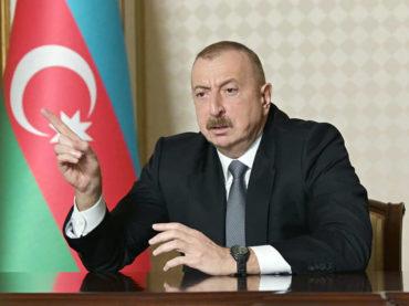 Aliyev: Armenija je odgovorna za ratni zločin, Azerbejdžan će dati adekvatan odgovor