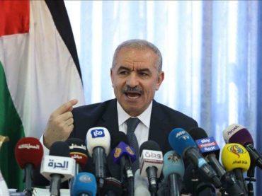Palestinski premijer Shtayyeh: Sporazum Bahreina i Izraela je udarac u kičmu Arapa