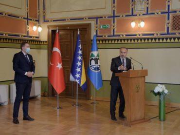 Gradonačelnik Burse Alinur Aktas u posjeti Sarajevu