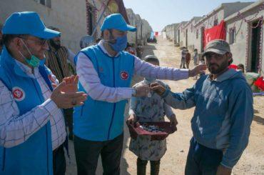Sirija: Uz podršku turske Fondacije Diyanet 600 porodica u Idlibu dobilo krov nad glavom