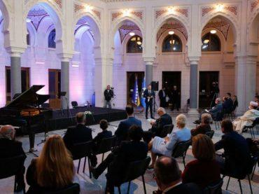Koncert četiri nacionalna društva održan u Vijećnici: Potpisan i važan sporazum o saradnji